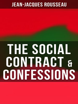 cover image of The Social Contract & Confessions