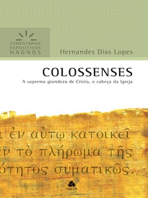 cover image of Colossenses