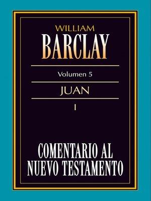 cover image of Comentario al Nuevo Testamento Volume 5