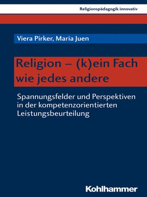 cover image of Religion--(k)ein Fach wie jedes andere