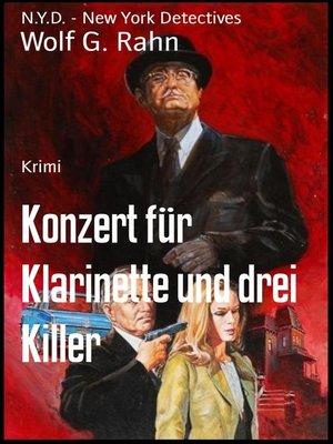 cover image of Konzert für Klarinette und drei Killer