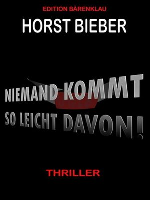 cover image of Niemand kommt so leicht davon