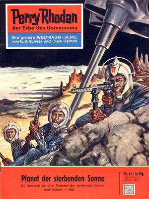 cover image of Perry Rhodan 17