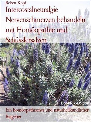 cover image of Intercostalneuralgie behandeln mit Homöopathie und Schüsslersalzen