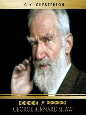 cover image of George Bernard Shaw