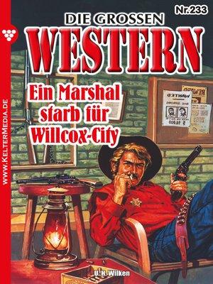 cover image of Die großen Western 233