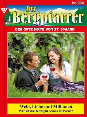 cover image of Der Bergpfarrer 234 – Heimatroman