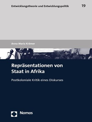 cover image of Repräsentationen von Staat in Afrika