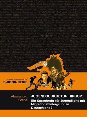 cover image of Jugendsubkultur HipHop