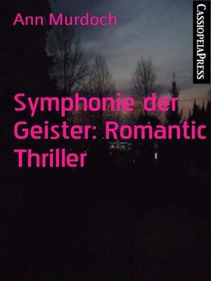 cover image of Symphonie der Geister