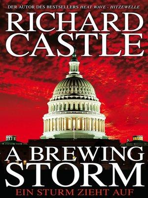 cover image of A Brewing Storm--Ein Sturm zieht auf