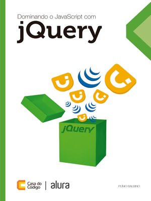 cover image of Dominando JavaScript com jQuery