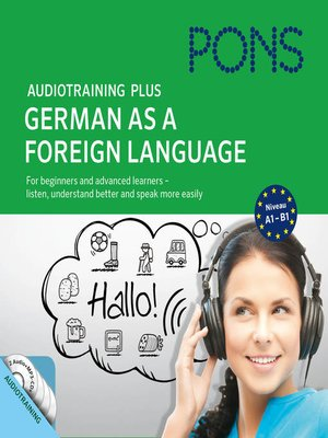 cover image of PONS Audiotraining Plus--German as a Foreign Language