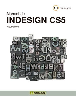 cover image of Manual de Indesign CS5