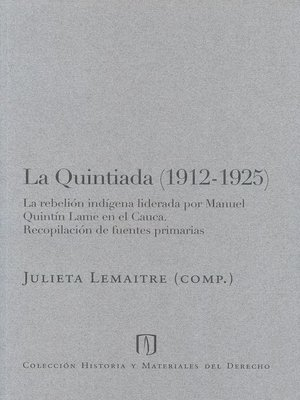 cover image of La Quintiada (1912-1925)