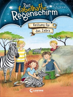 cover image of Der fabelhafte Regenschirm 2--Rettung für das Zebra