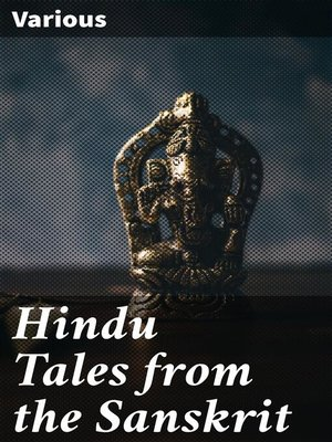 cover image of Hindu Tales from the Sanskrit