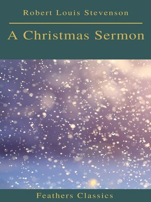 cover image of A Christmas Sermon (Feathers Classics)