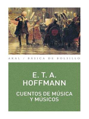cover image of Cuentos de música y músicos
