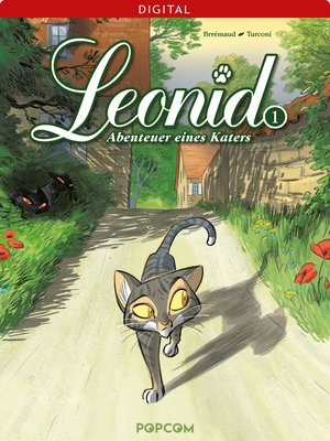 cover image of Leonid--Abenteuer eines Katers 01