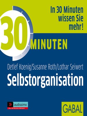 cover image of 30 Minuten Selbstorganisation