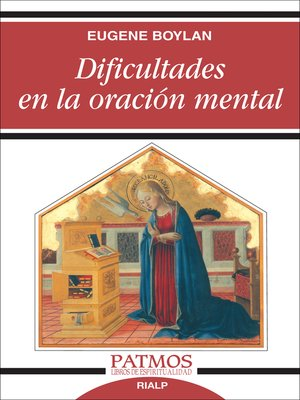 cover image of Dificultades en la oración mental