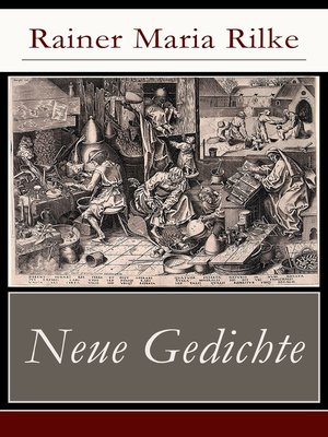 cover image of Neue Gedichte