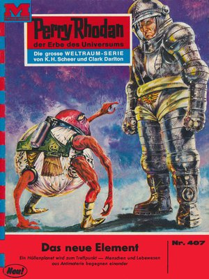 cover image of Perry Rhodan 407