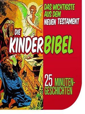 cover image of Die Kinderbibel