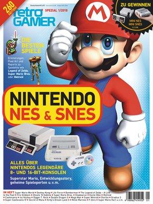 cover image of Retro Gamer Spezial 1/2018--Nintendo NES & SNES