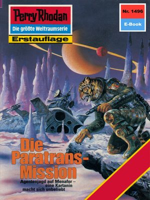 cover image of Perry Rhodan 1496