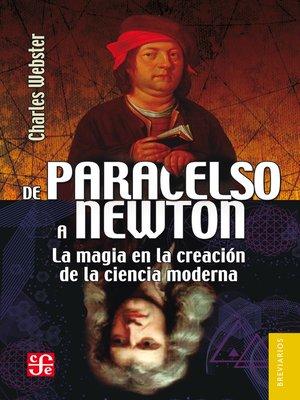 cover image of De Paracelso a Newton