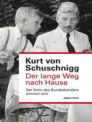 cover image of Der lange Weg nach Hause