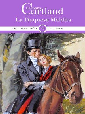 cover image of La Duquesa Maldita