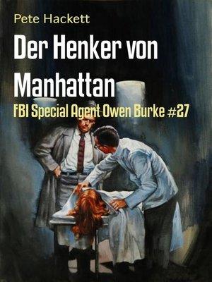 cover image of Der Henker von Manhattan