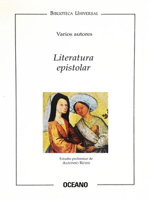 cover image of Literatura epistolar
