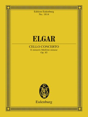 cover image of Cello Concerto E minor