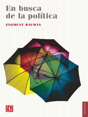 cover image of En busca de la política