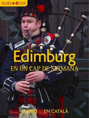 cover image of Edimburg. En un cap de setmana