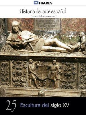 cover image of Escultura del siglo XV