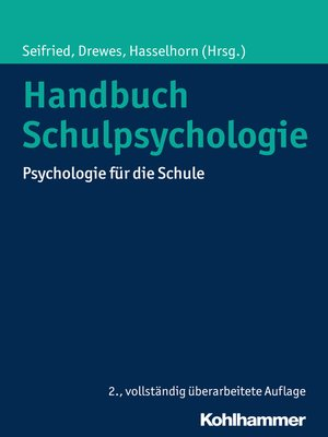 cover image of Handbuch Schulpsychologie