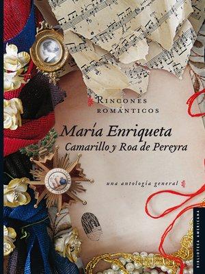 cover image of Rincones románticos