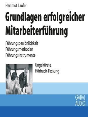 cover image of Grundlagen erfolgreicher Mitarbeiterführung