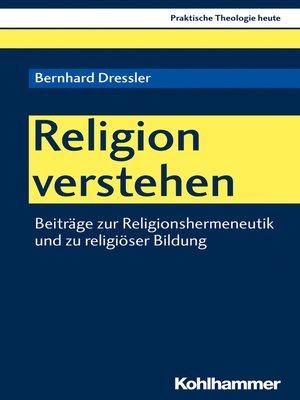 cover image of Religion verstehen