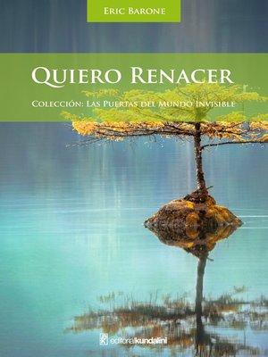 cover image of Quiero renacer