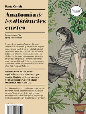 cover image of Anatomia de les distàncies curtes