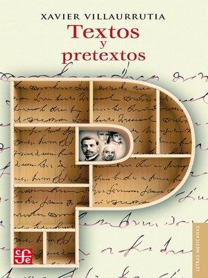 cover image of Textos y pretextos
