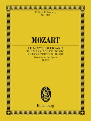 cover image of Le Nozze di Figaro