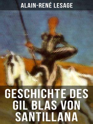 cover image of Geschichte des Gil Blas von Santillana