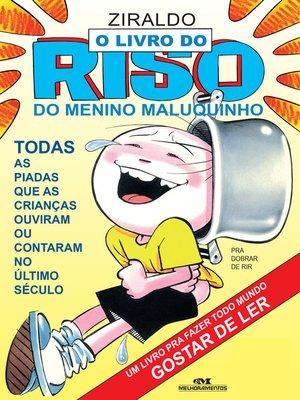 cover image of O Livro do Riso do Menino Maluquinho